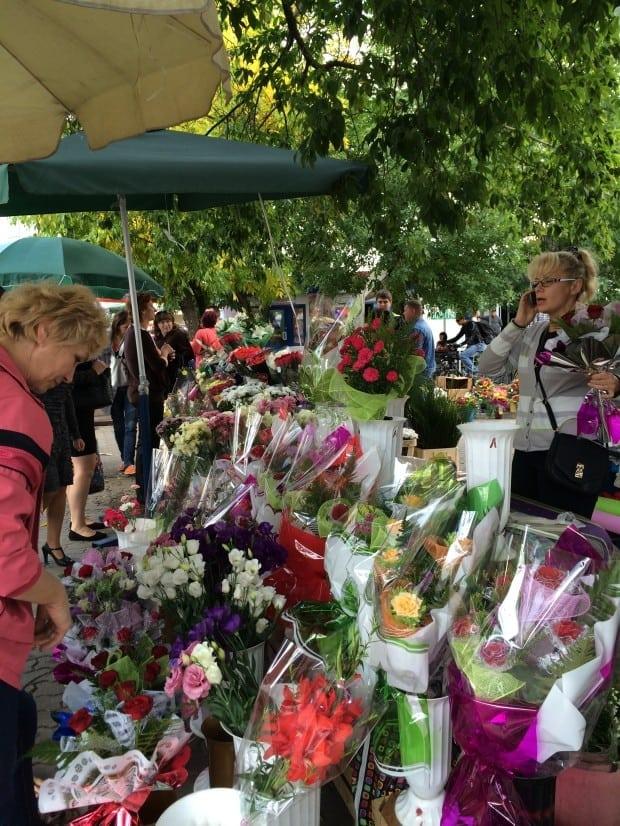Mercado flores, Brest