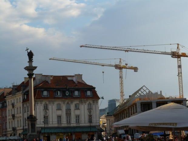Varsovia Columna de Segismundo III y gr?as